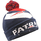 FOCO Men's New England Patriots Light Up Navy Knit