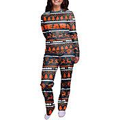 FOCO Women's Chicago Bears Wordmark Crew Pajama Set