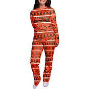 FOCO Women's Cleveland Browns Wordmark Crew Pajama Set
