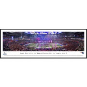 Blakeway Panoramas Super Bowl LIII Champions New England Patriots Standard Framed Panorama Poster