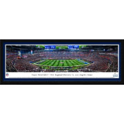 Blakeway Panoramas Super Bowl LIII Champions New England Patriots Kick Off Framed Panorama Poster