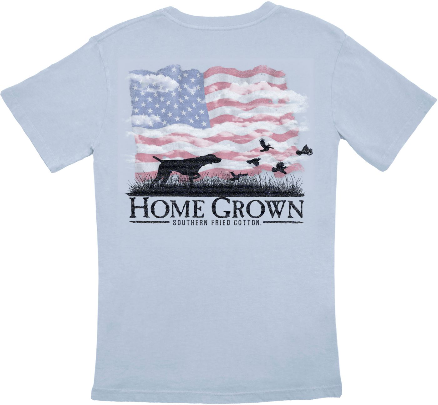 Southern Fried Cotton Men's USA Point The Way Home T-Shirt