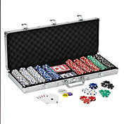 Fat Cat Texas Hold 'Em Dice Poker Chip Set