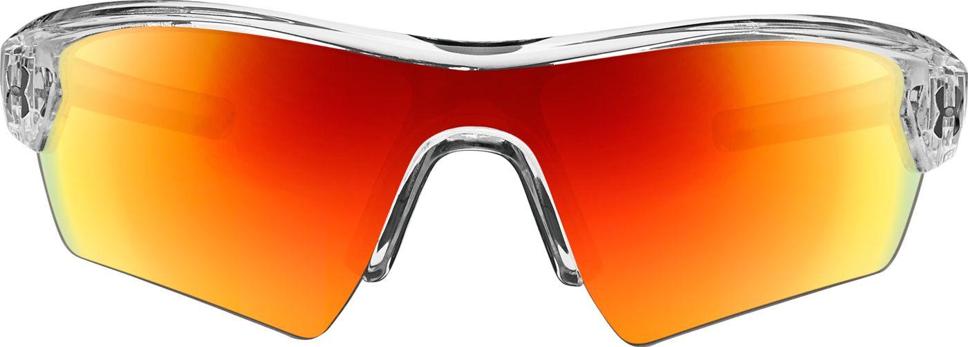 Under Armour Boy's Tuned Baseball Menace Sunglasses
