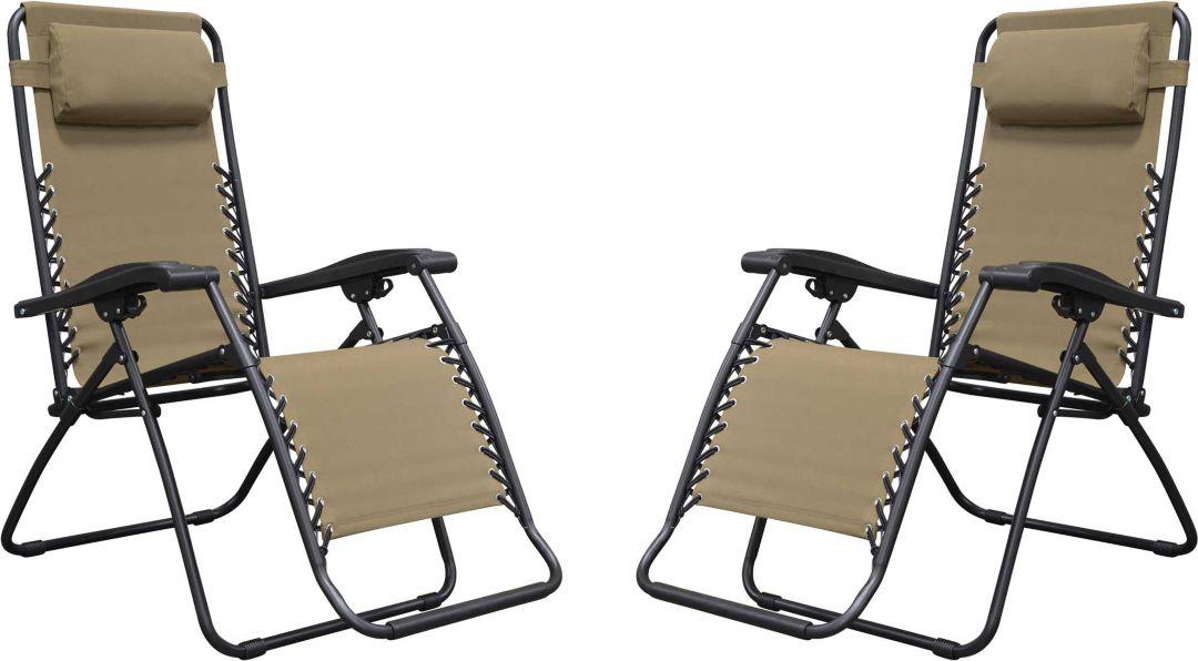 Admirable Caravan Sports Infinity Zero Gravity Chair 2 Pack Machost Co Dining Chair Design Ideas Machostcouk