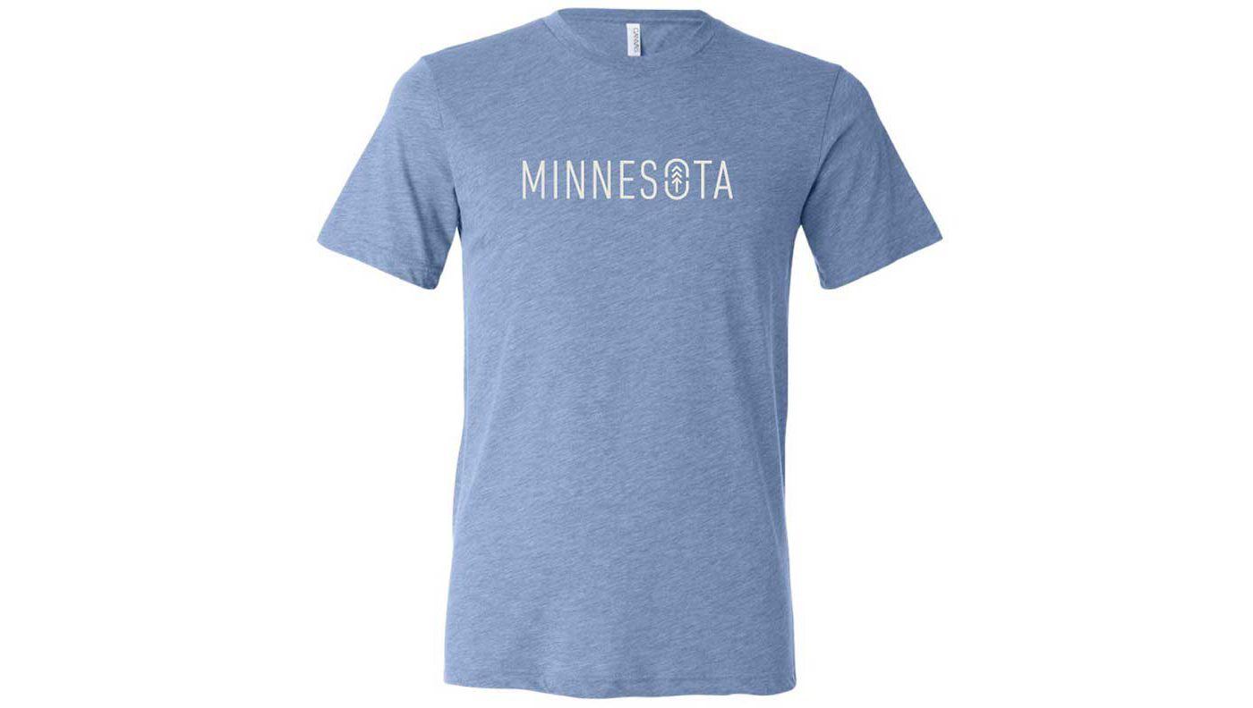 Up North Trading Company Men's Minnesota Logo T-Shirt
