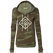 Up North Trading Company Women's Camo Hoodie