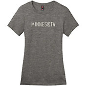 Up North Trading Company Women's Minnesota Up North Logo T-Shirt