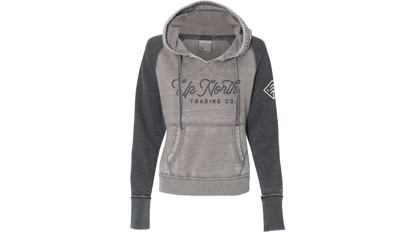 Up North Trading Company Women's Raglan Hoodie