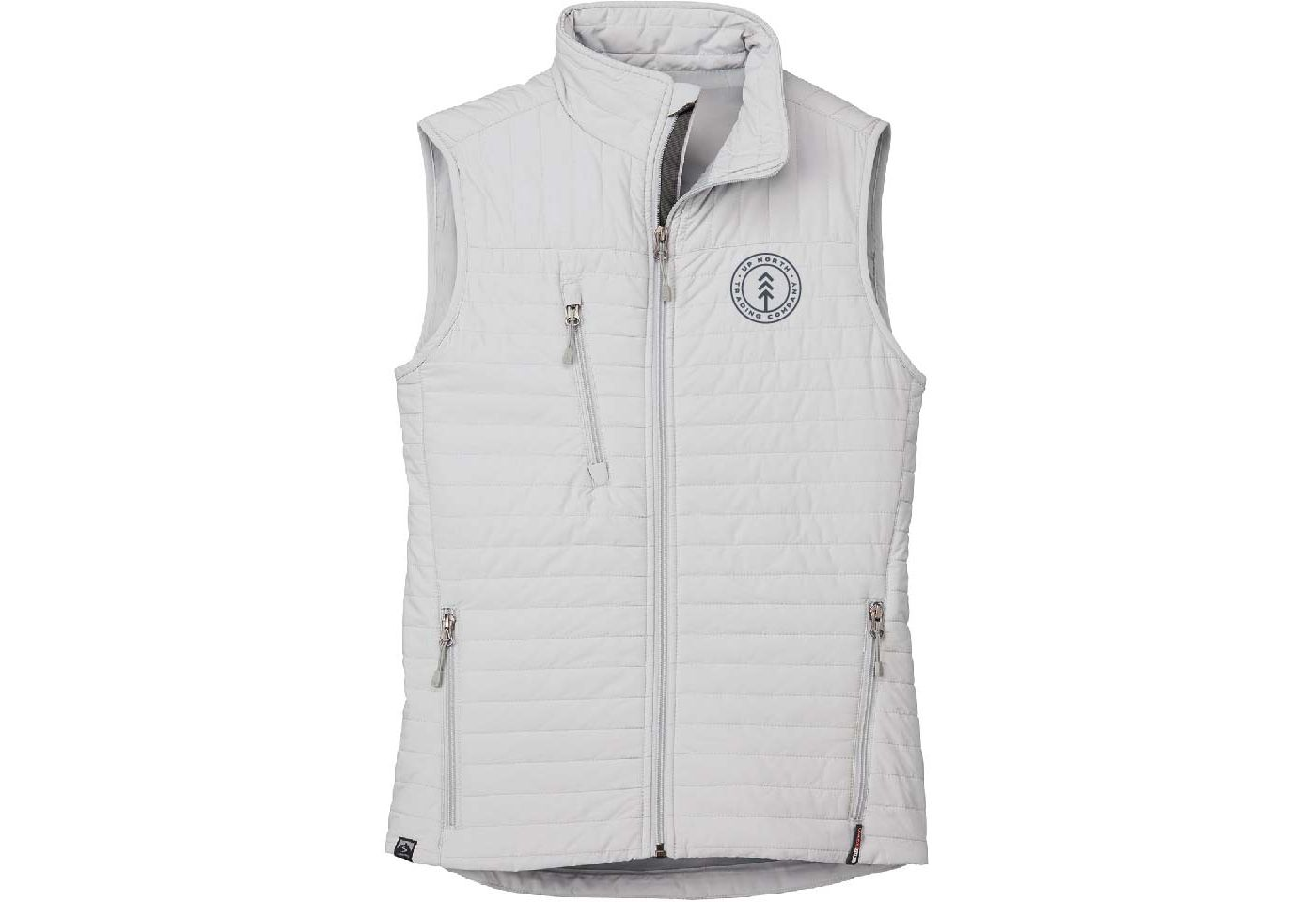 Up North Trading Company Women's Platinum Circle Insulated Vest