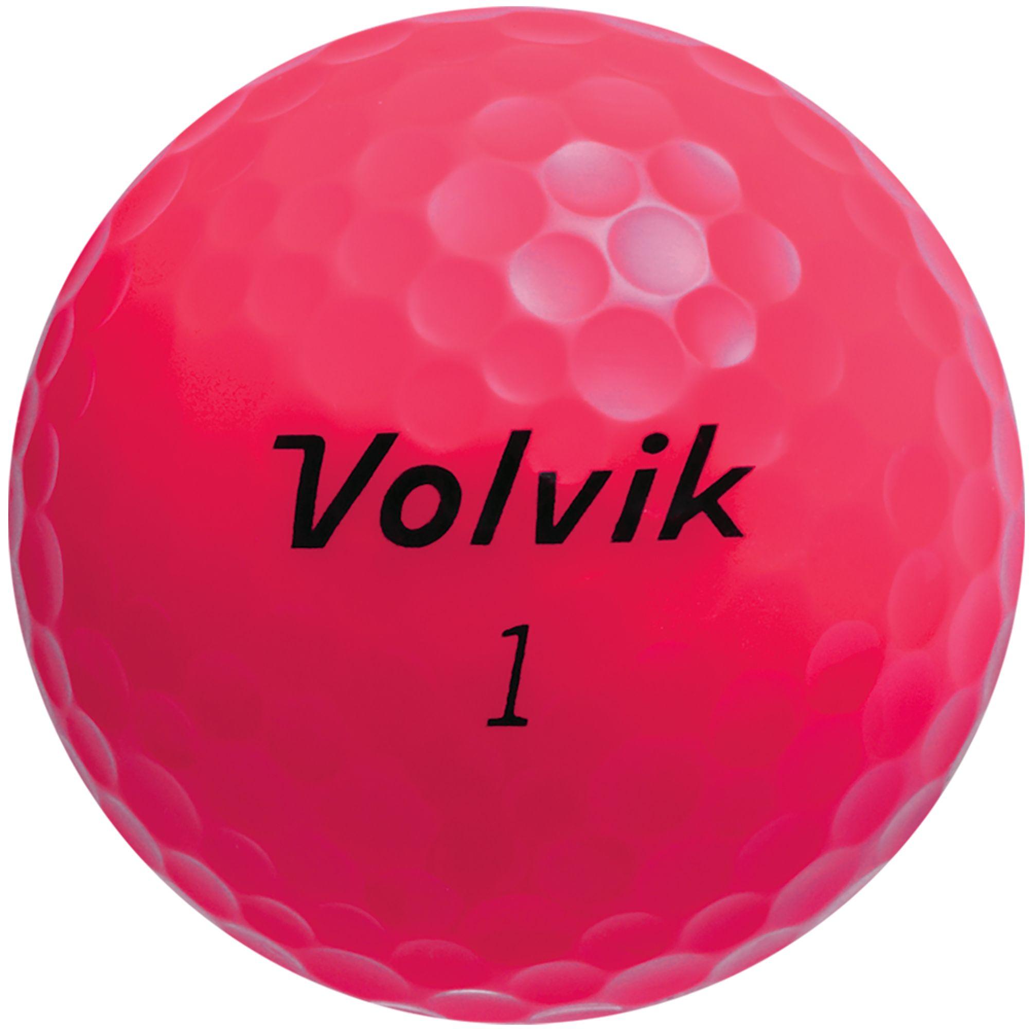 Nice Volvik 2018 Crystal Pink Golf Balls | DICK'S Sporting  for cheap