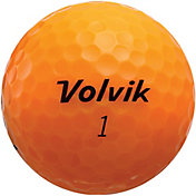 Volvik 2018 Crystal Orange Golf Balls