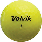 Volvik 2018 Crystal Yellow Golf Balls