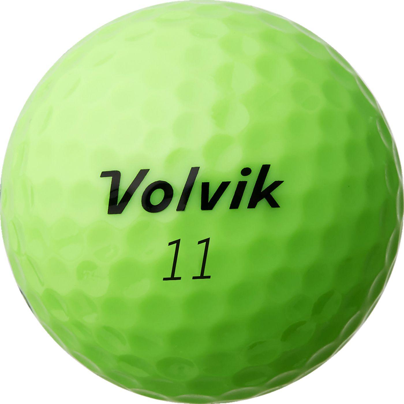 Volvik 2018 Power Soft Green Golf Balls