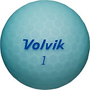 Volvik 2018 VIVID Lite Matte Blue Golf Balls