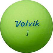 Volvik 2018 VIVID Lite Matte Green Golf Balls