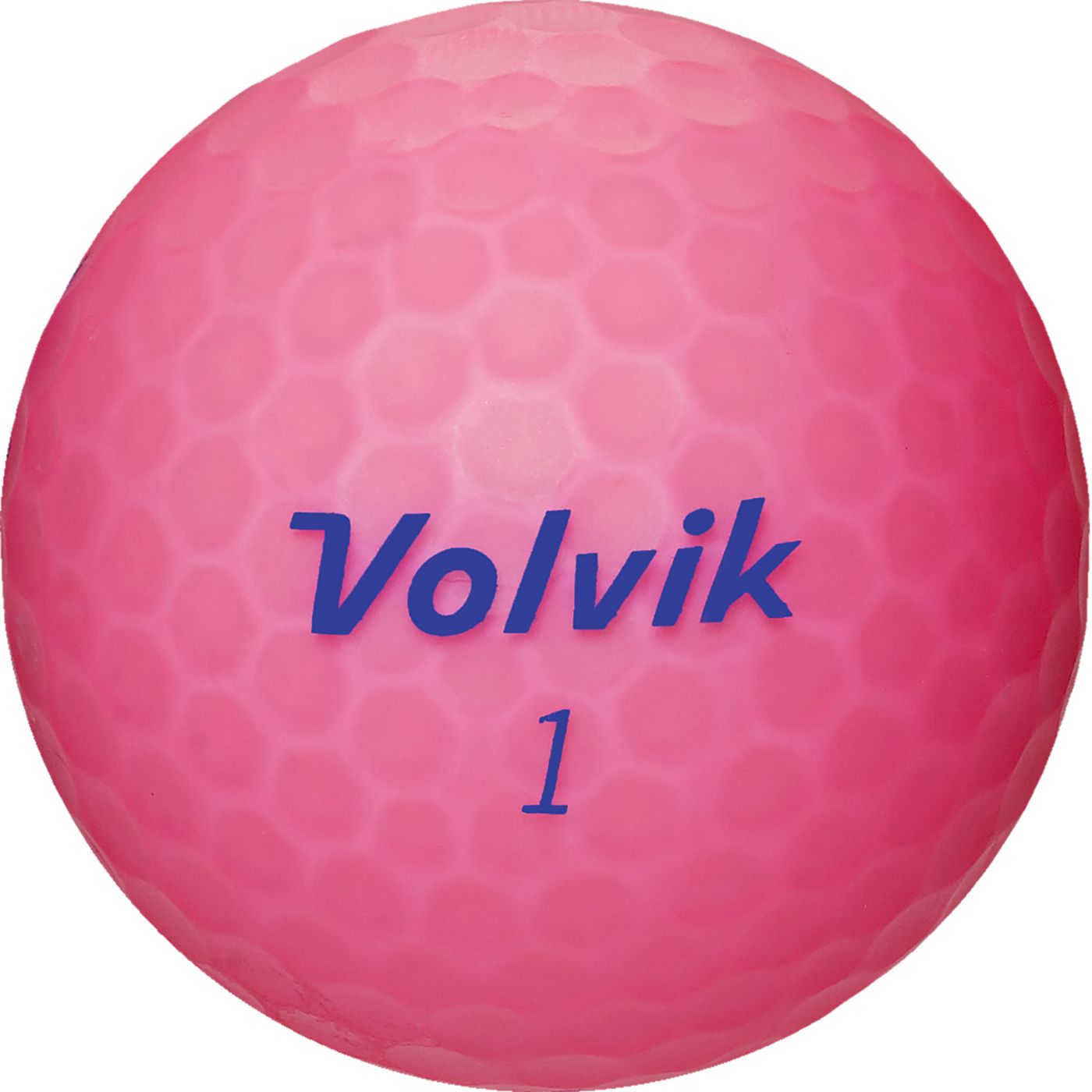 Volvik 2018 VIVID Lite Matte Pink Golf Balls
