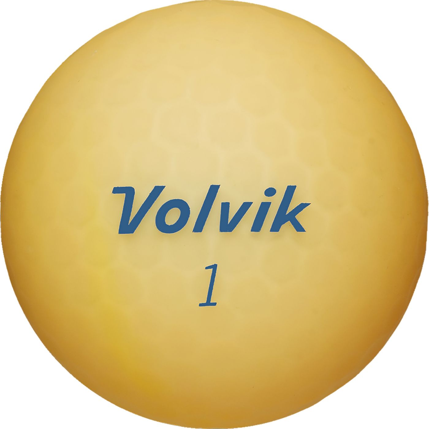 Volvik 2018 VIVID Lite Matte Orange Golf Balls