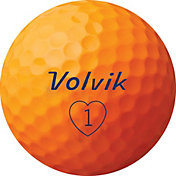 Volvik 2019 S3 Orange Golf Balls