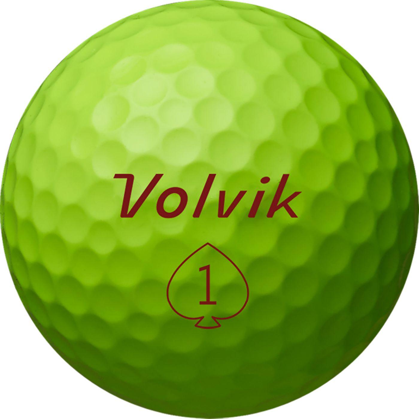 Volvik 2019 S4 Green Golf Balls