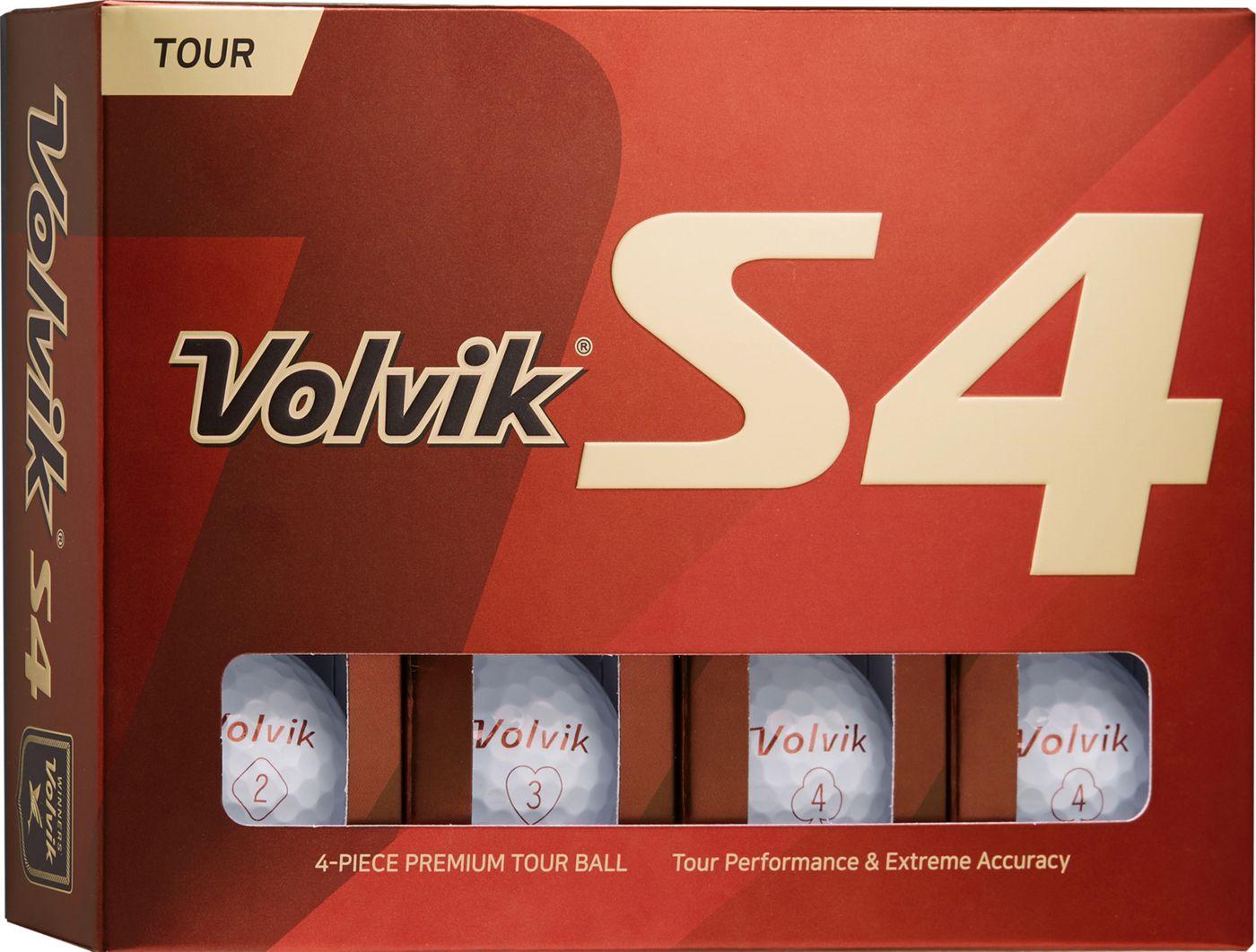 Volvik 2019 S4 Golf Balls