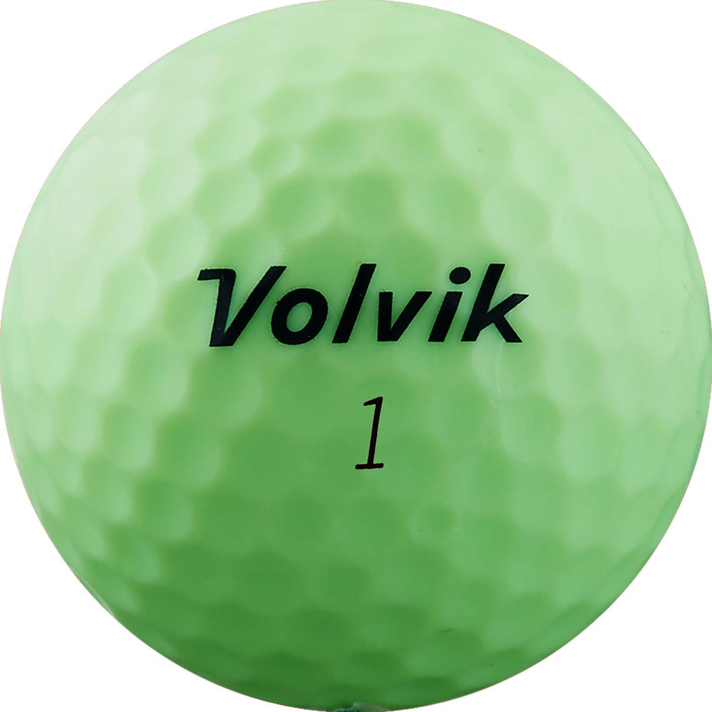 Volvik 2019 ViMAX Soft Green Golf Balls