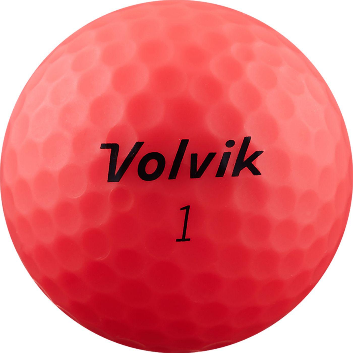 Volvik 2019 ViMAX Soft Red Golf Balls
