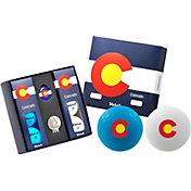 Volvik VIVID Matte State Colorado Edition Golf Balls + Hat Clip Set  – 6 Pack