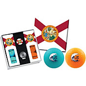 Volvik VIVID Matte State Florida Edition Golf Balls + Hat Clip Set  – 6 Pack