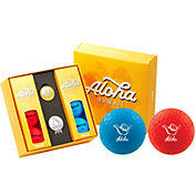 Volvik VIVID Matte State Hawaii Edition Golf Balls + Hat Clip Set  – 6 Pack