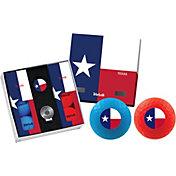 Volvik VIVID Matte State Texas Edition Golf Balls + Hat Clip Set  – 6 Pack