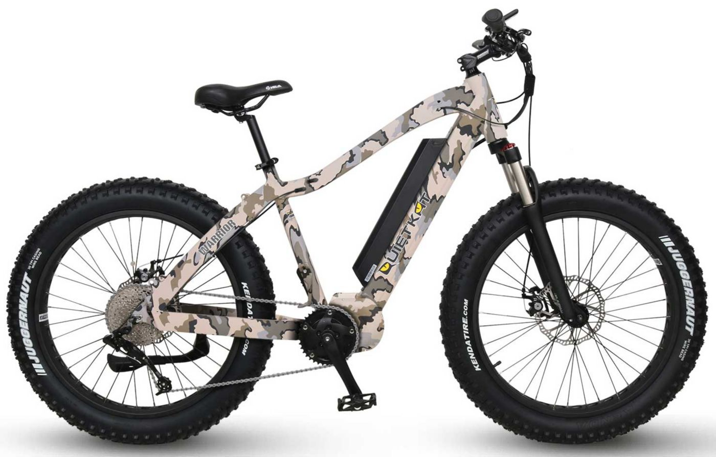 QuietKat Warrior Electric Mountain Bike
