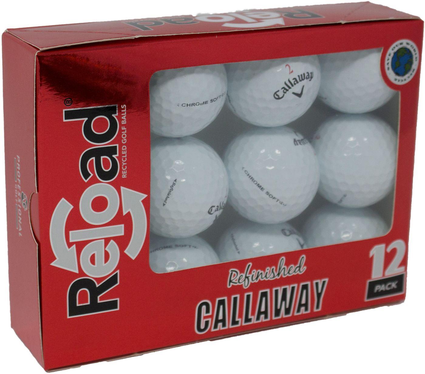 Refurbished Callaway Chrome Soft X Golf Balls