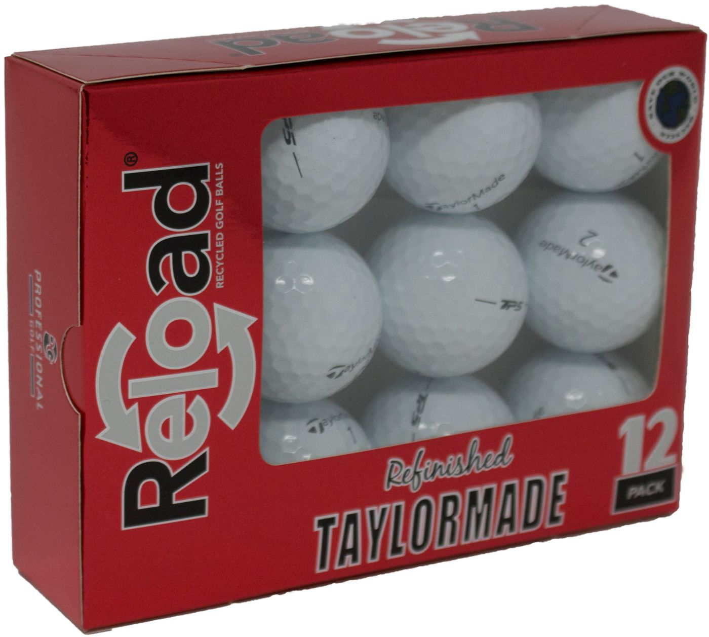 Refurbished TaylorMade TP5 Golf Balls