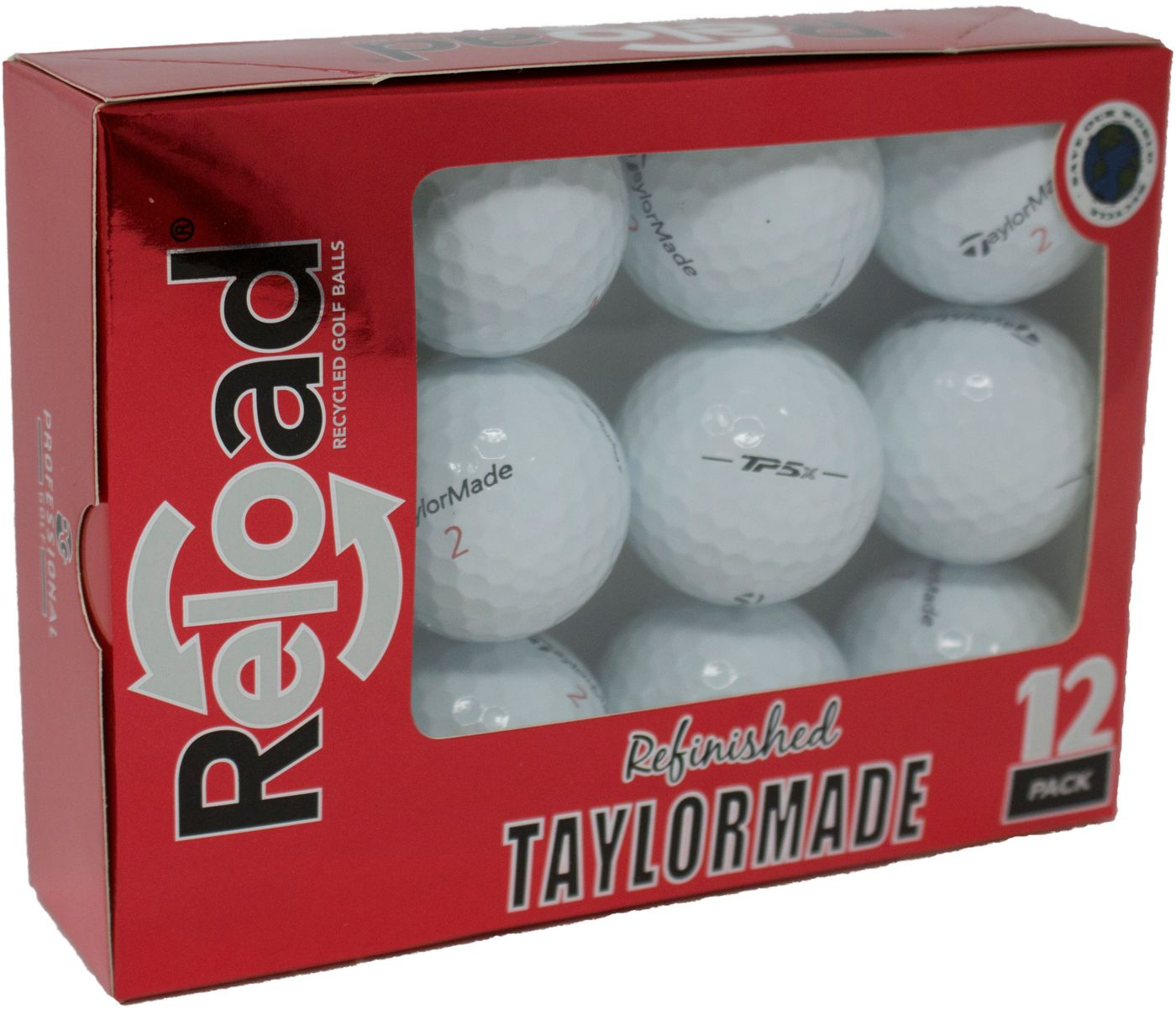 Refurbished TaylorMade TP5x Golf Balls