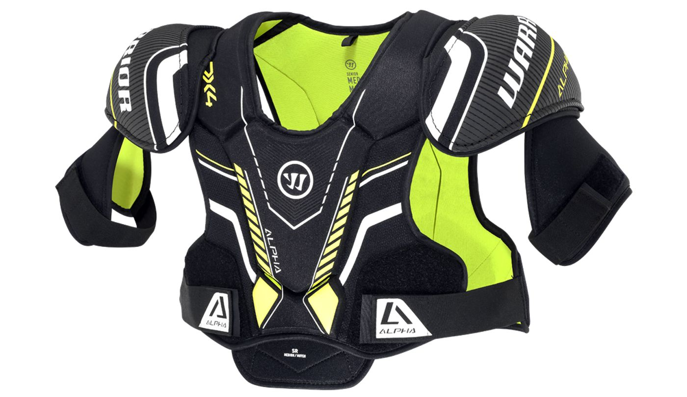 Warrior Senior Alpha DX 4 Ice Hockey Shoulder Pads