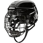 Warrior Senior Alpha One Ice Hockey Helmet Combo