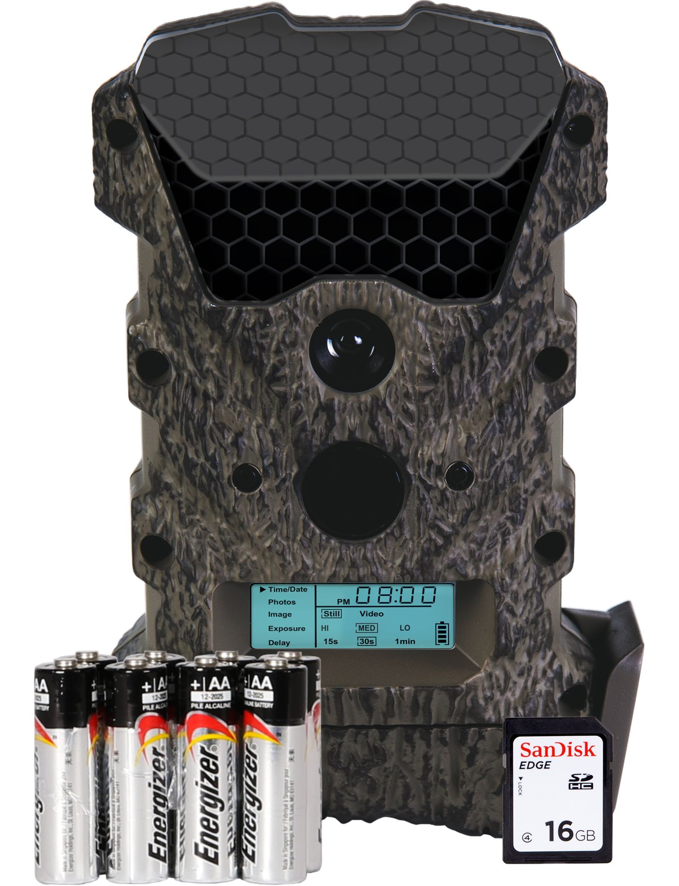 Wildgame Innovations Scrapeline Lightsout Trail Camera Package – 16 MP