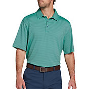 Walter Hagen Men's 11 Majors Bar Stripe Golf Polo