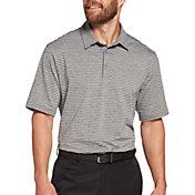 Walter Hagen Men's 11 Majors Bar Stripe Golf Polo