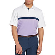 Walter Hagen Men's 11 Majors Ombre Textured Golf Polo- Big & Tall