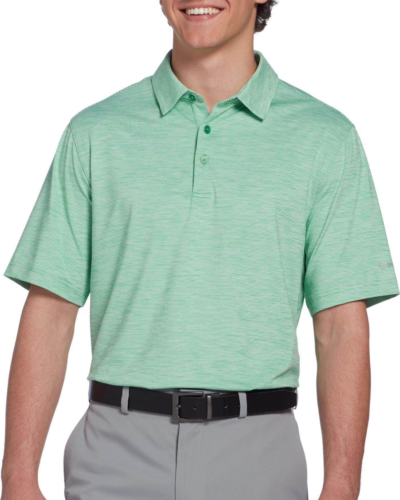 Walter Hagen Men's 11 Majors Championship Stripe Golf Polo