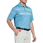 Walter Hagen Men's 11 Majors Chest Stripe Golf Polo
