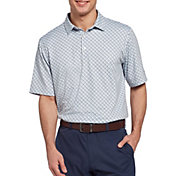 Walter Hagen Men's Perfect 11 Diamond Multi Geo Print Golf Polo