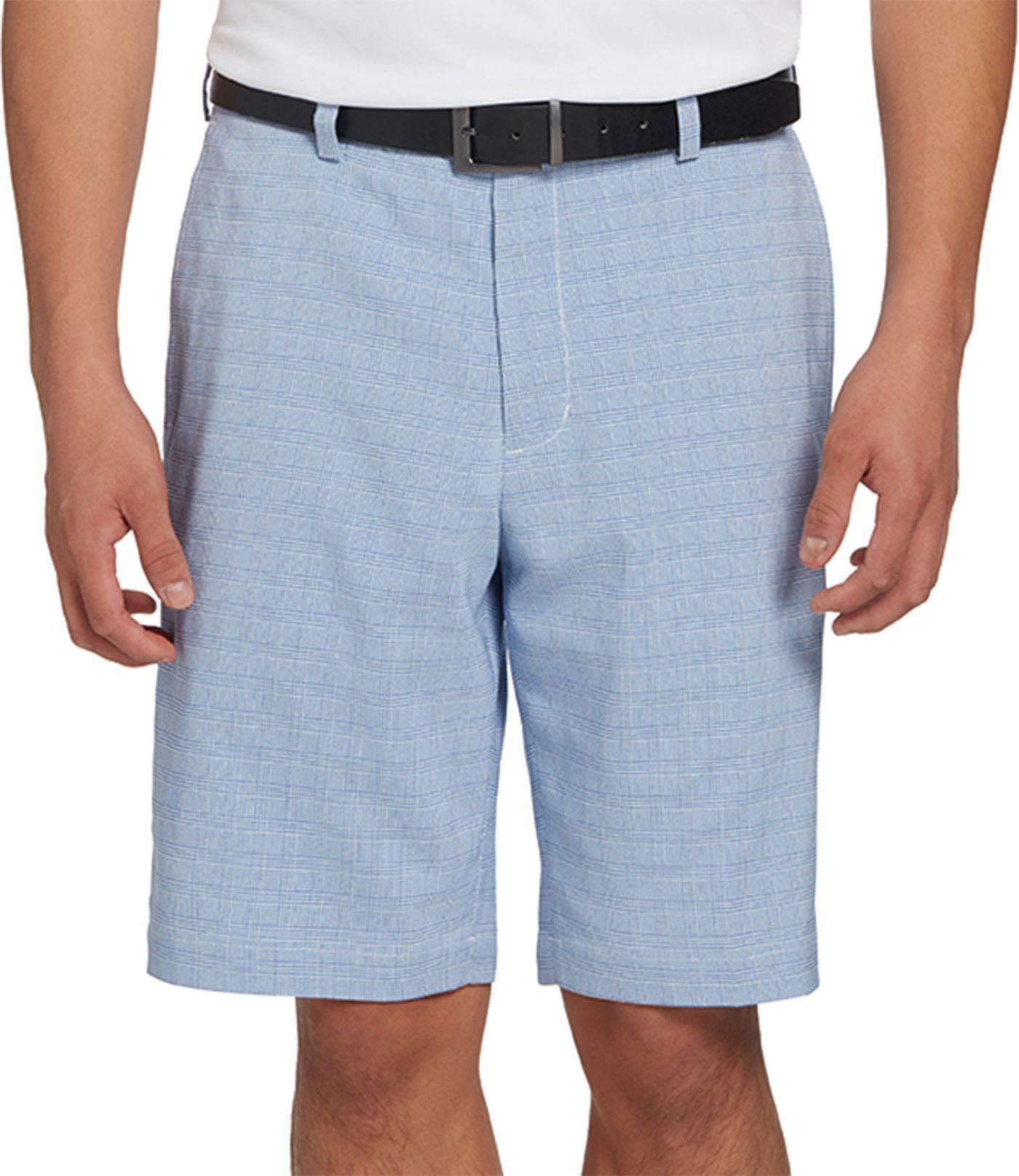 Walter Hagen Men's 11 Majors Glen Plaid Golf Shorts