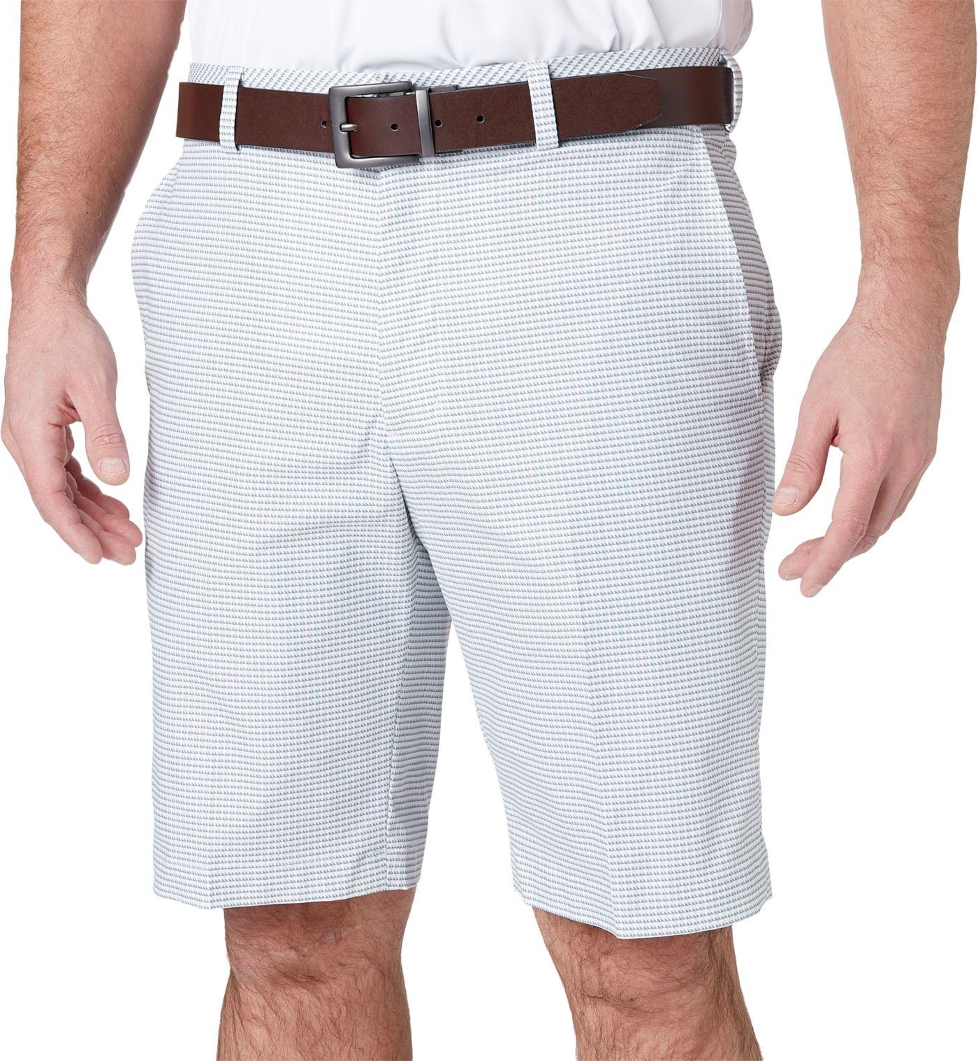 Walter Hagen Men's 11 Majors Houndstooth Printed Golf Shorts