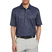 Walter Hagen Men's Perfect 11 All Over Mini Stars Golf Polo