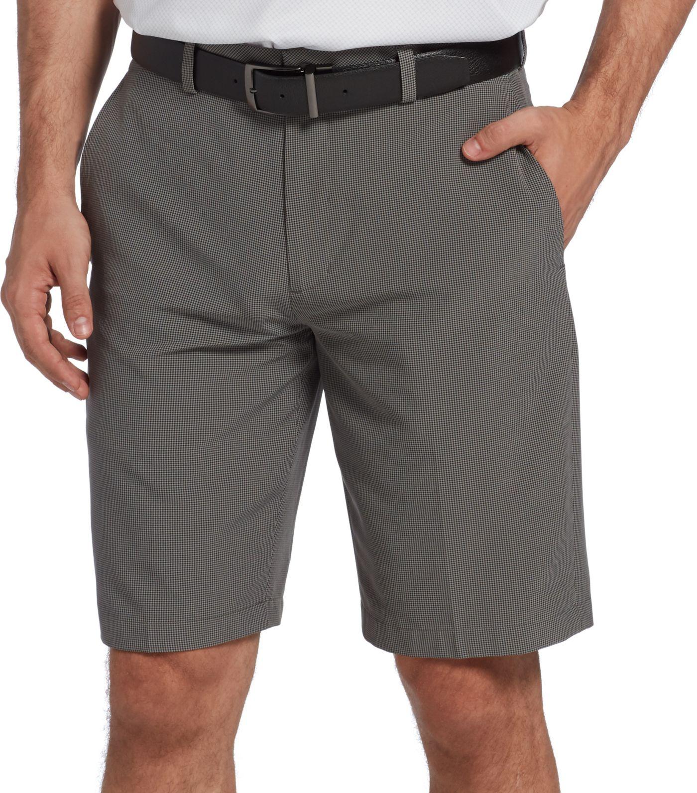 Walter Hagen Men's 11 Majors Mini Houndstooth Golf Shorts
