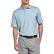 Walter Hagen Men's 11 Majors Mini Square Golf Polo