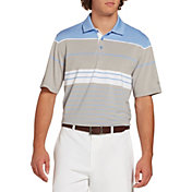 Walter Hagen Men's 11 Majors Stripe Golf Polo